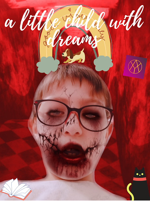 a little child with dreams