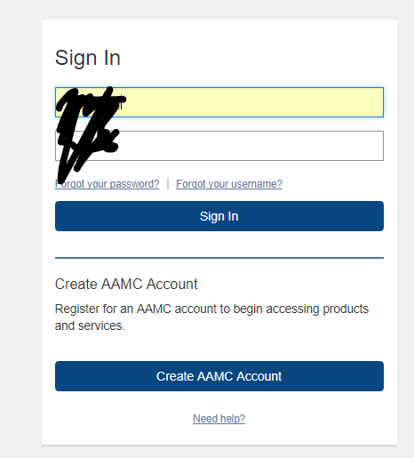 Aamc Website Down