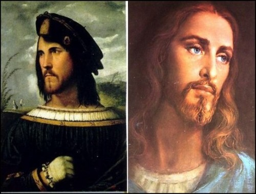 Cesare borgia and jesus