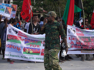 LSM: Hentikan Intimidasi Terhadap Aktivis KNPB Wilayah Sorong