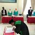 Terapkan Protokol Kesehatan Covid-19, Camat Pelembayan Lantik Wali Nagari.