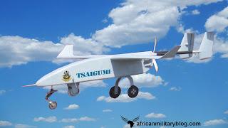 The new  Tsaigumi UAV was built by the Nigerian Air Force aerospace engineers