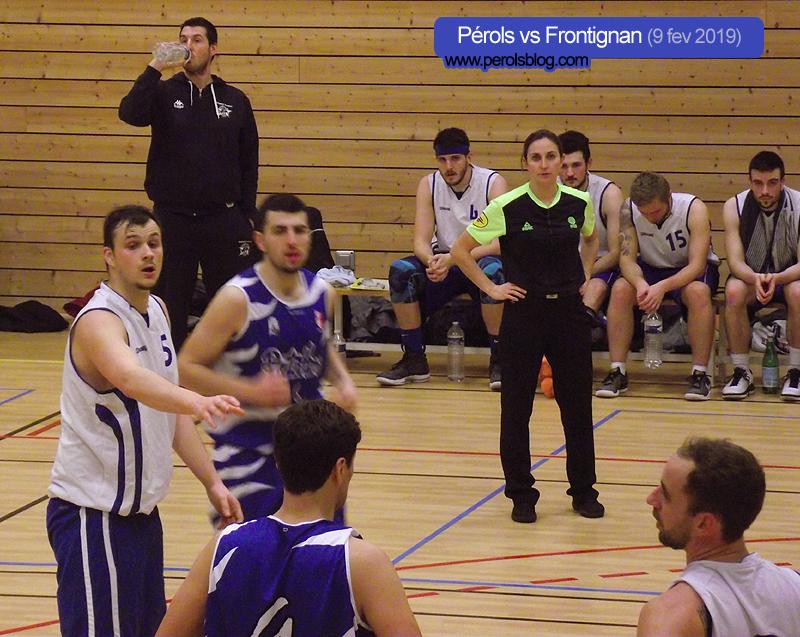 Basket : Pérols vs Frontignan