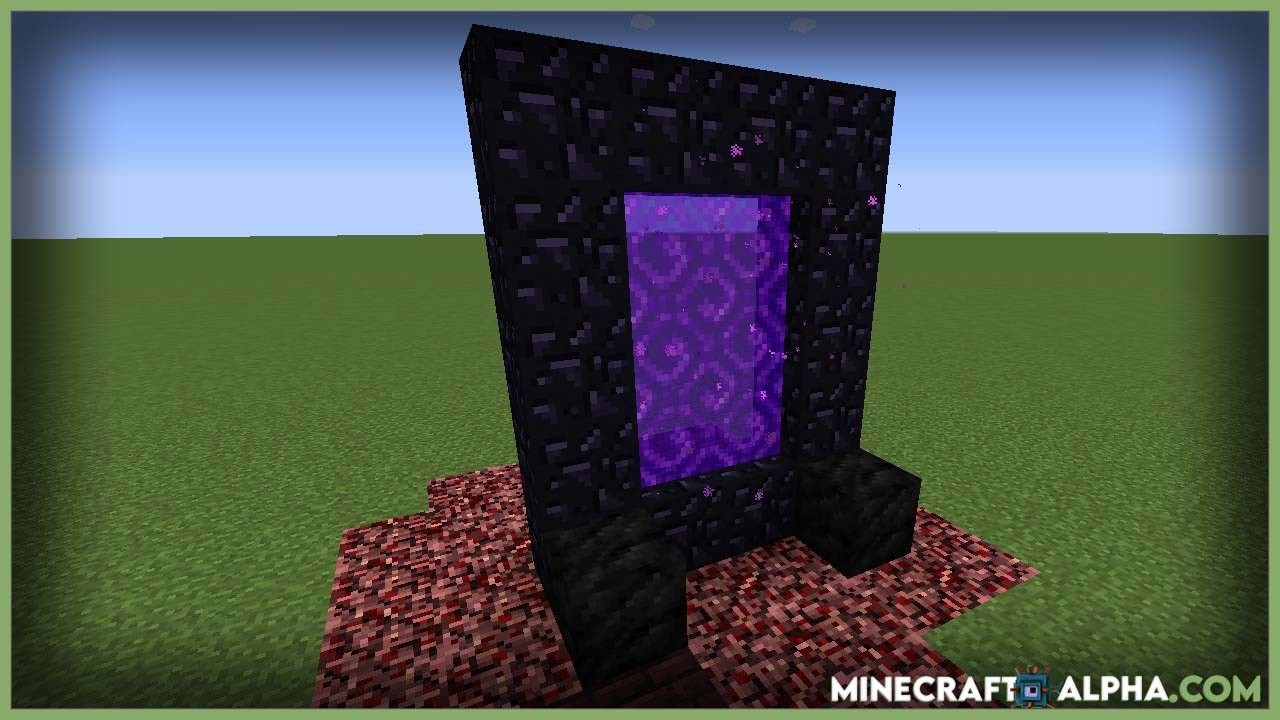 Minecraft Nether Portal Spread Mod 1.17.1 (Making Nether Portals A Bit More Ominous)
