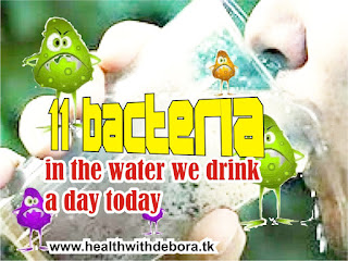 11 bacteria in the water We Drink a day today
