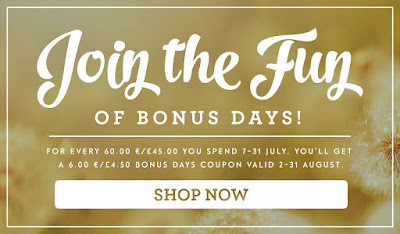 Bonus Days Coupon