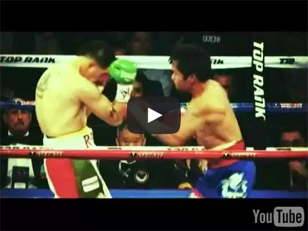 Manny Pacquiao vs Chris Algieri Fight Results