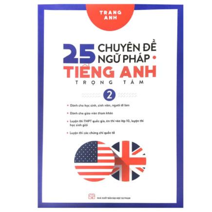 25 Chuyên Đề Ngữ Pháp Tiếng Anh Trọng Tâm Tập 2 ebook PDF-EPUB-AWZ3-PRC-MOBI