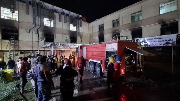 Iraq: Fire in Corona Hospital 23 Killed