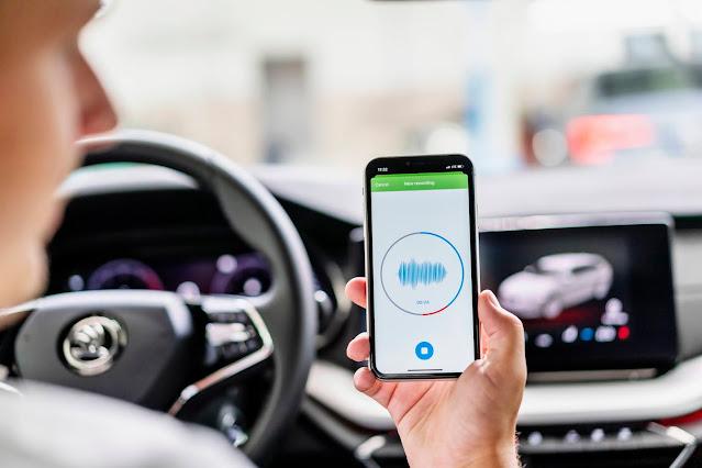 Skoda, l'intelligenza artificiale per la diagnosi attraverso l'App Sound Analyzer