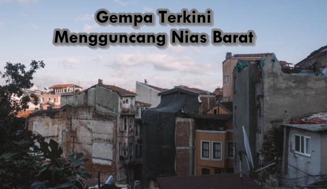 Gempa Guncang Nias Barat, Warga Tetap Ziarah Kubur Meski Dilarang