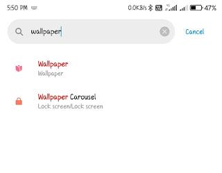 mi phone lockscreen wallpaper aoto changes off