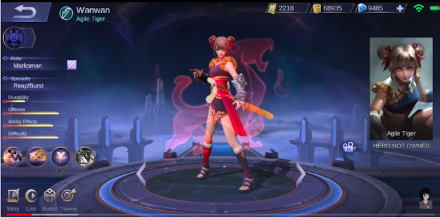 Analisis Skill Hero Marksman Terbaru Wan Wan Mobile Legends