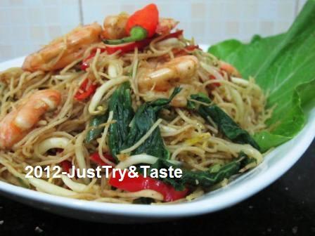 Bihun Goreng A La Singapore Just Try Taste