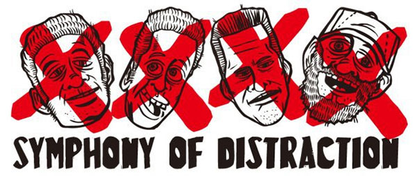 "Symphony Of Distraction stream new song ""Died Around Christmas"""