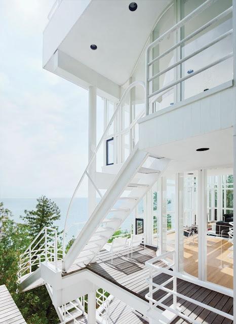square staircase design