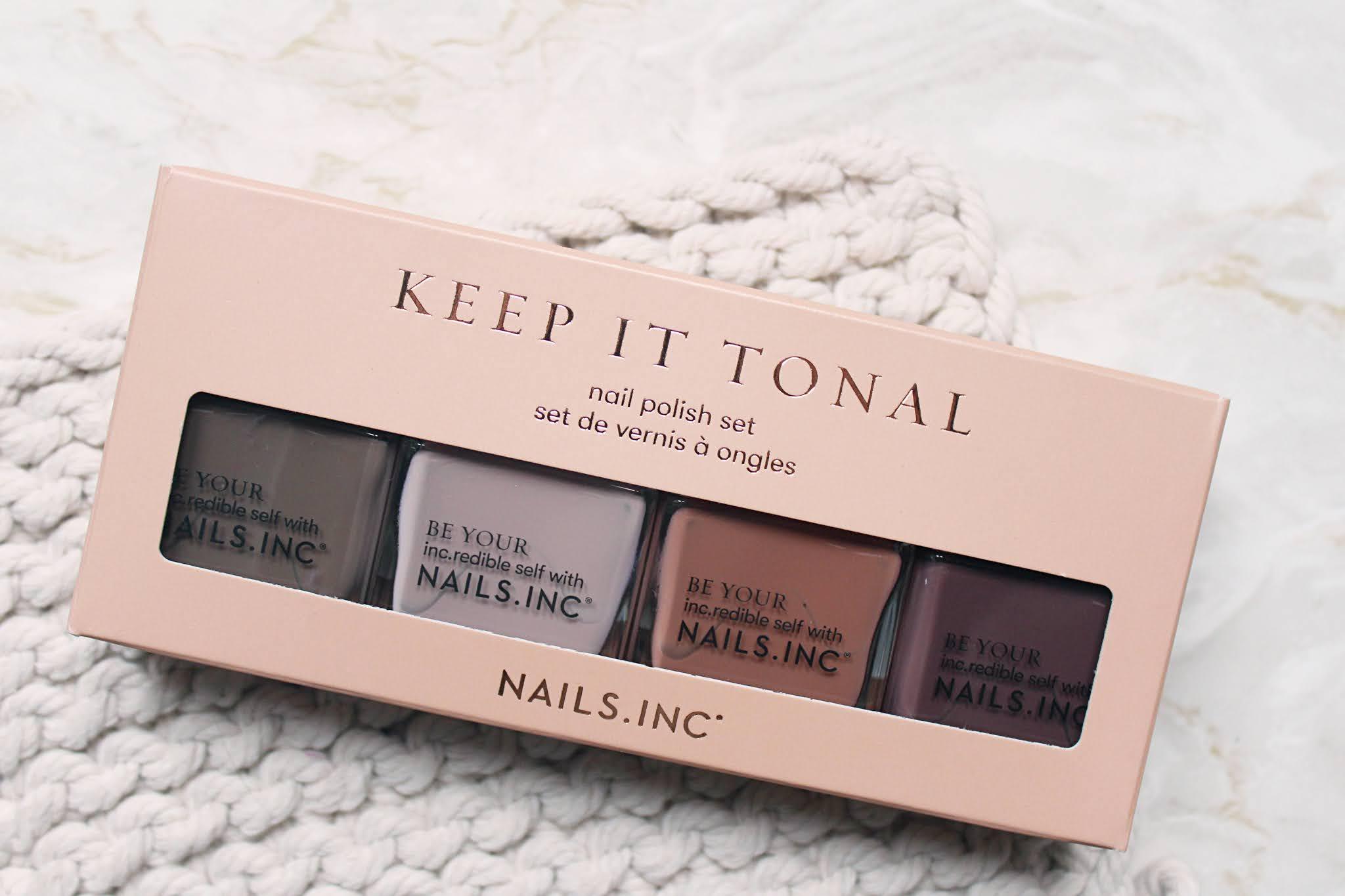 Nails Inc Keep It Tonal Ombre Nail Polish Set Review & Swatches