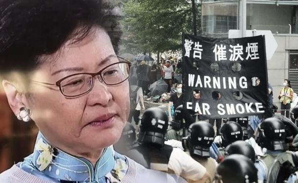 Sambil Berlinangan Airmata,Kepala Eksekutif Carrie Lam Mengatakan Ia Telah Berkorban Banyak Untuk Hong Kong