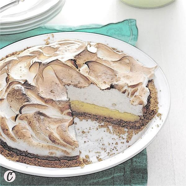 Buttermilk Lemon 🍋 Meringue Pie 🥧