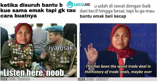 9 Meme Lucu 'Bantuin Emak' Ini Kocaknya Bikin Nyengir