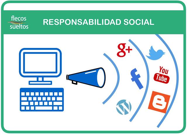 Responsabilidad en las redes sociales por flecossueltos