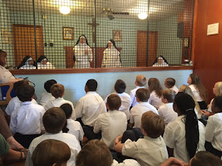 Montgomery Catholic Students Visit Dominican Monastery in Marbury 1
