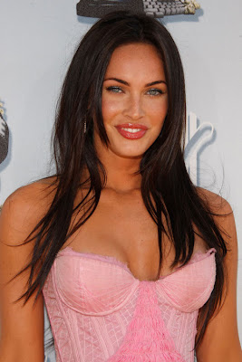 Hollywood Actress and Model Megan Fox in Saree Wallpapers