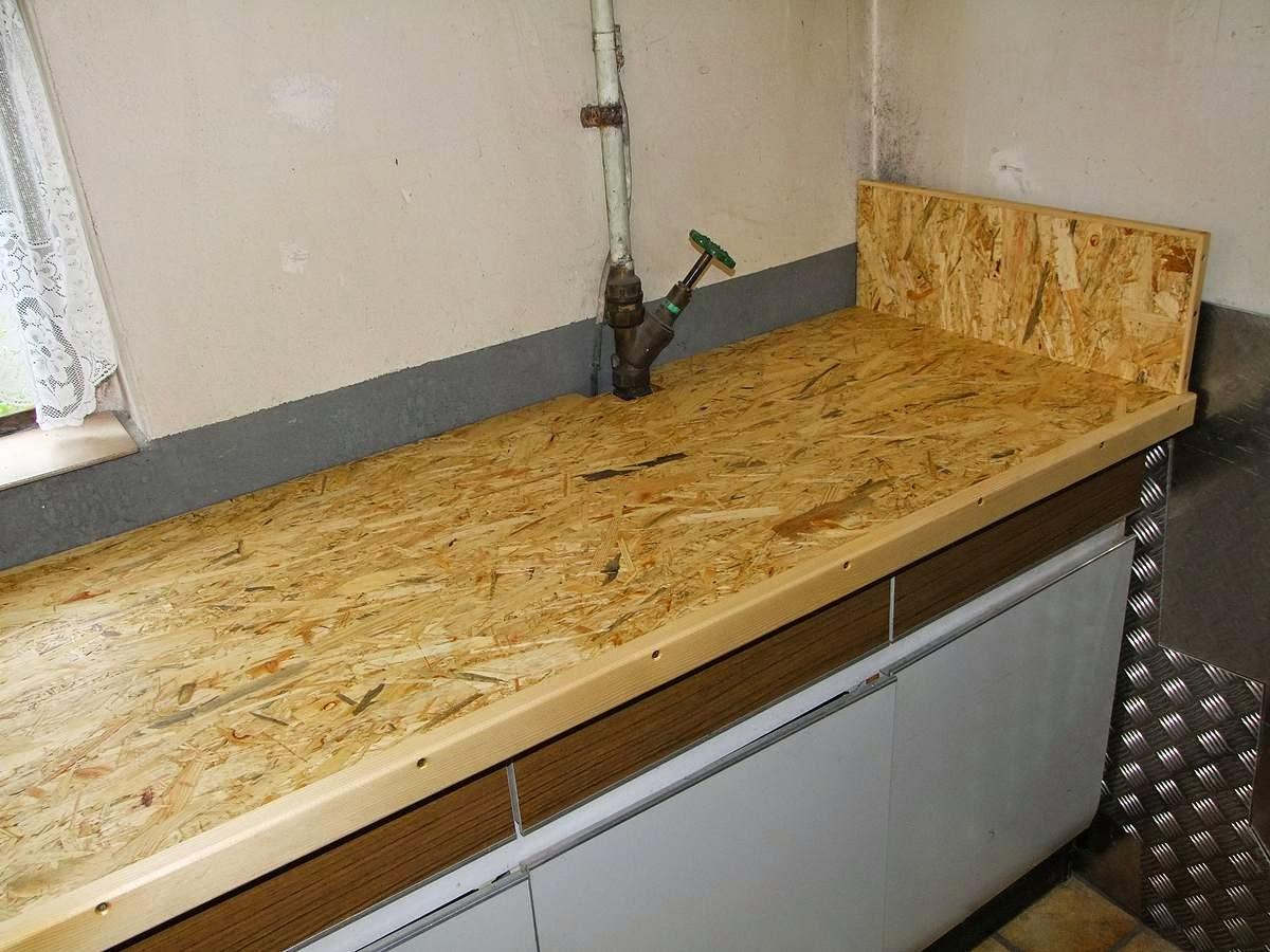 Arbeitsplatte Neue Oberfläche michas holzblog: projektvorstellung: arbeitsfläche für die waschküche
