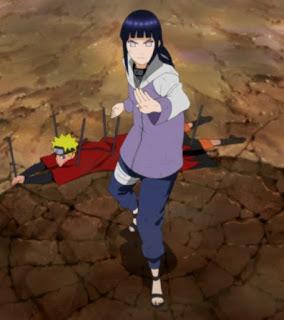 Hinata dan Naruto, Pain, Pertarungan