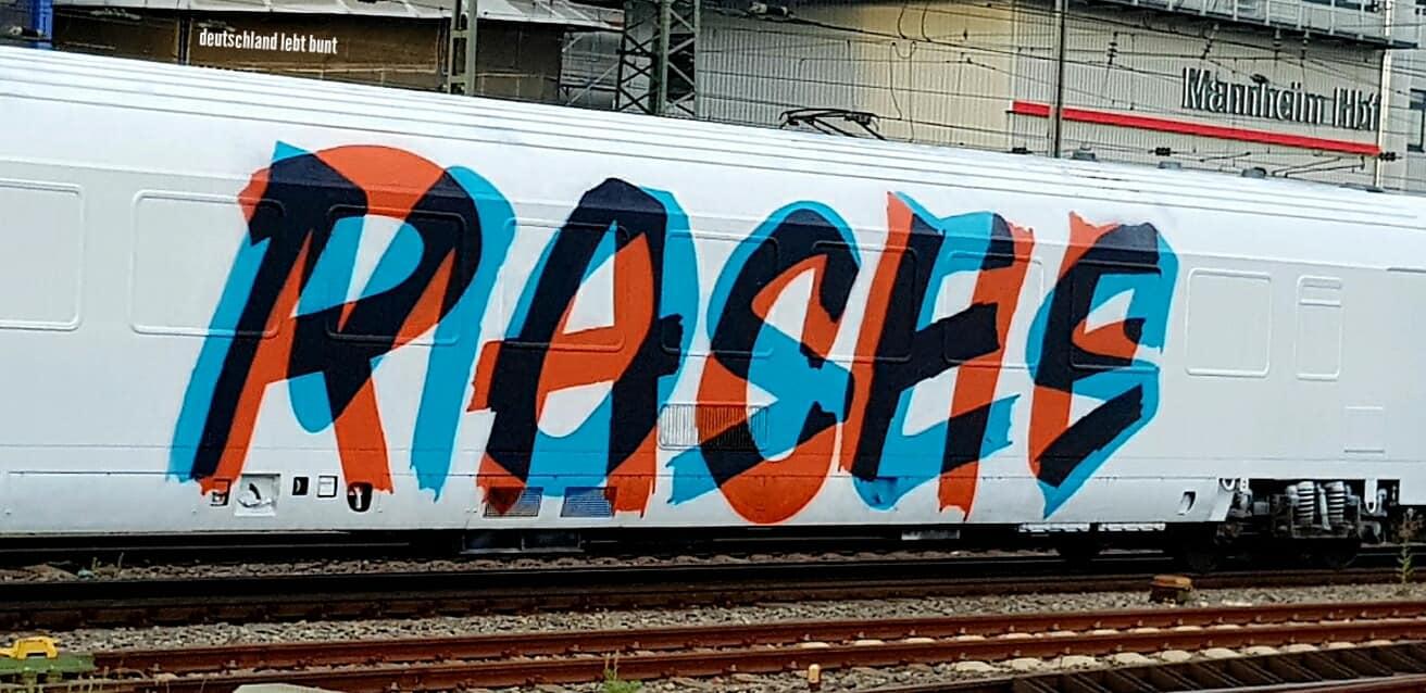 Graffiti Avantgarde Wholetrain | Moses & Rache
