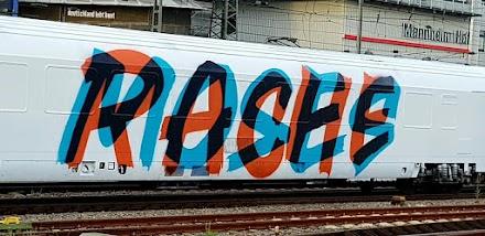 Graffiti Avantgarde Wholecar | Moses und Rache