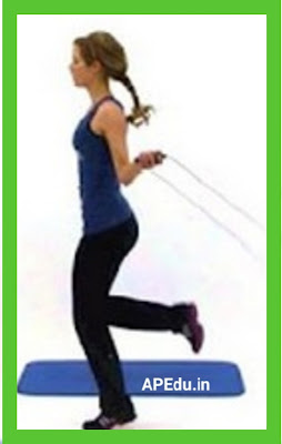 Skipping daily .. Lose weight .. Health Expert Description