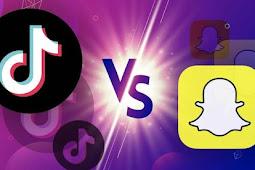 Snapchat يقوم بنسخ Tiktok لتدارك نفسه