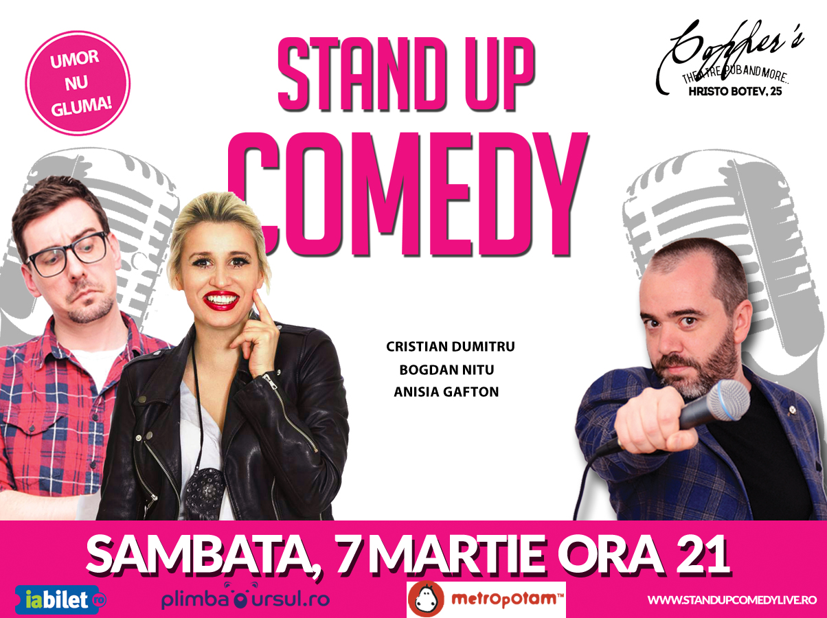 Stand Up Comedy Bucuresti 2020