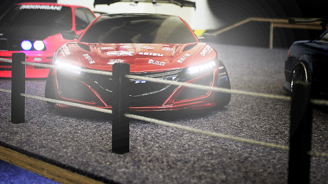 RC Honda NSX 2016 with LED lights