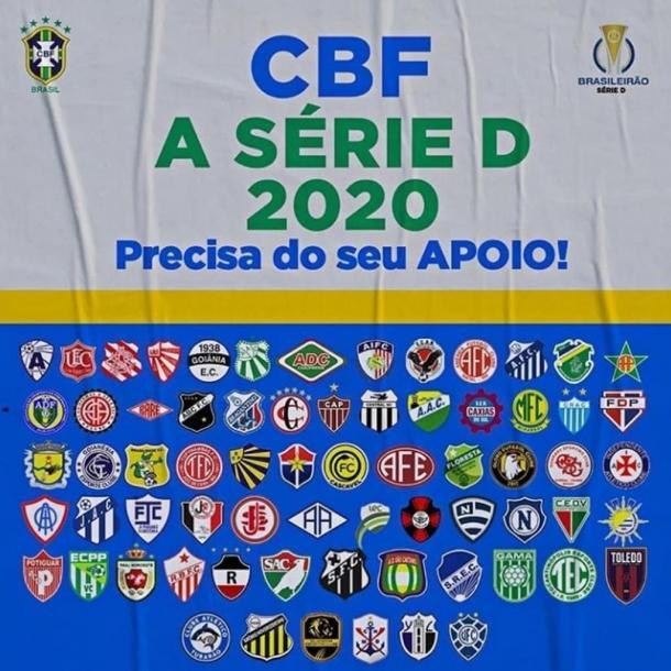 Tribuna De Noticias Cbf Divulga Nova Tabela Da Serie D E Primeira Fase Inicia Dia 19 De Setembro