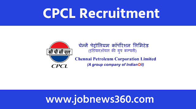 CPCL Chennai Recruitment 2020 for Apprentice