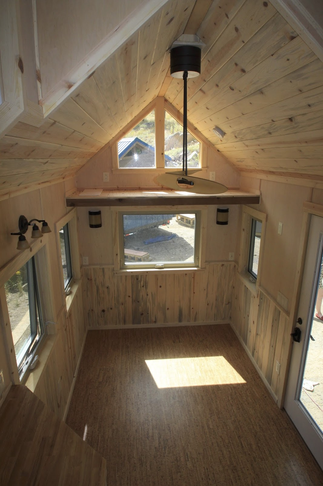Tiny Home Designs: TINY HOUSE TOWN: The Monarch By SimBLISSity Tiny Homes