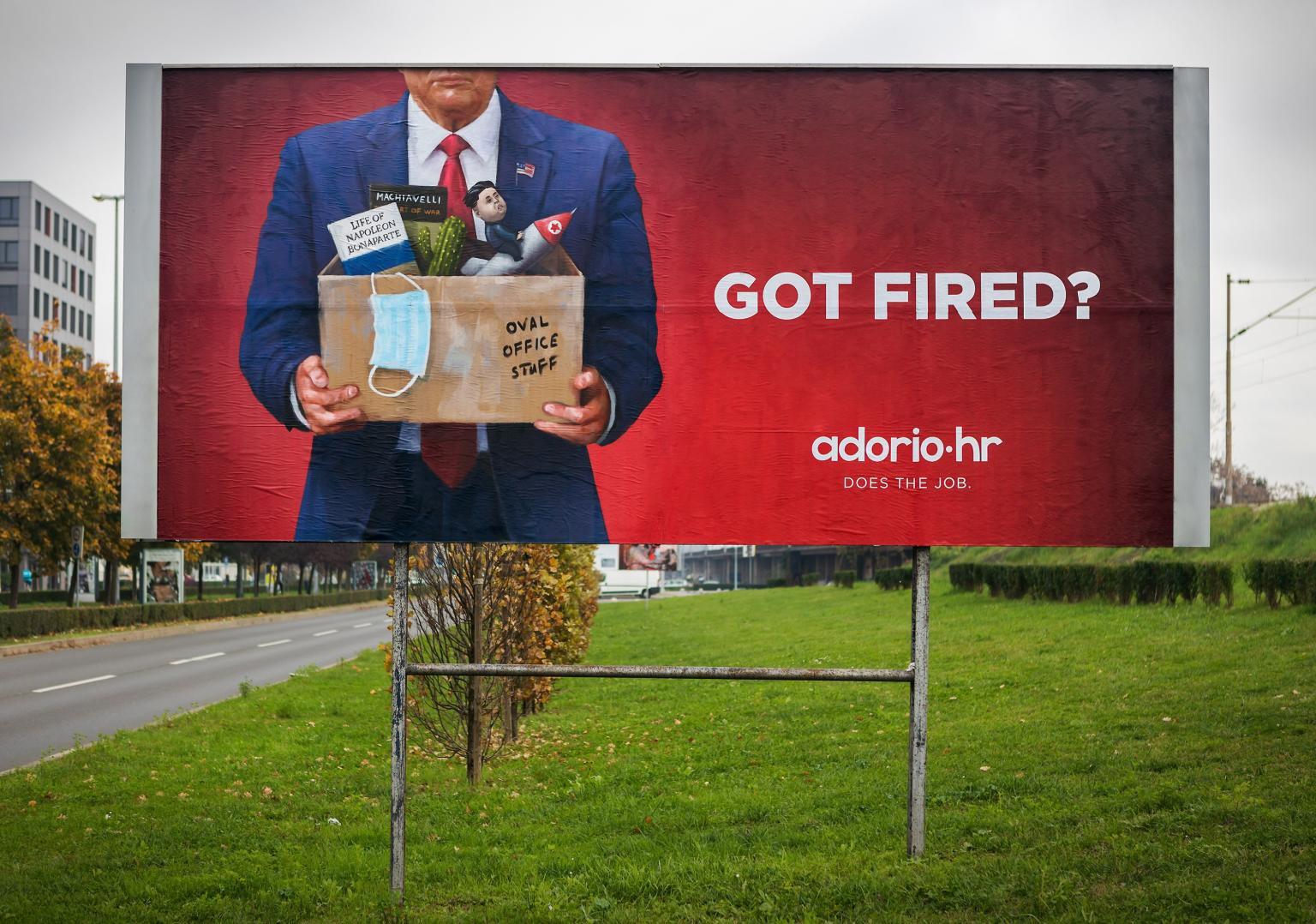 ADORIO billboard