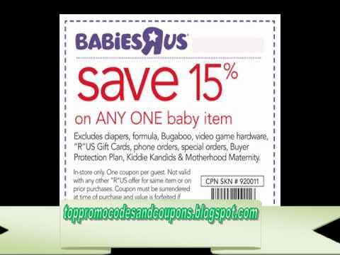 babies r us online coupon codes november 2019
