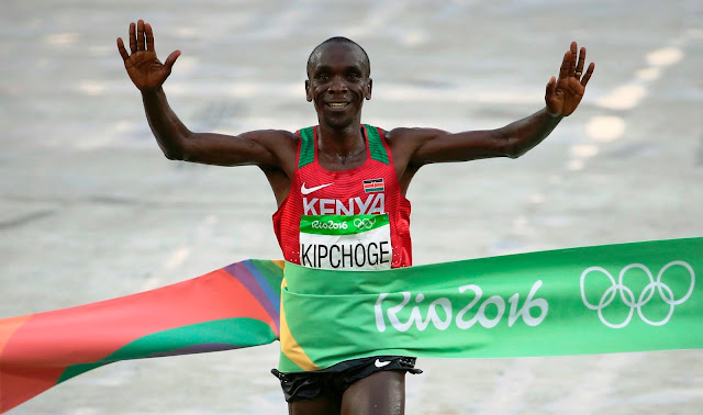 RIO Olympic Champion Eliud Kipchoge to run Airtel Delhi Half Marathon 2016