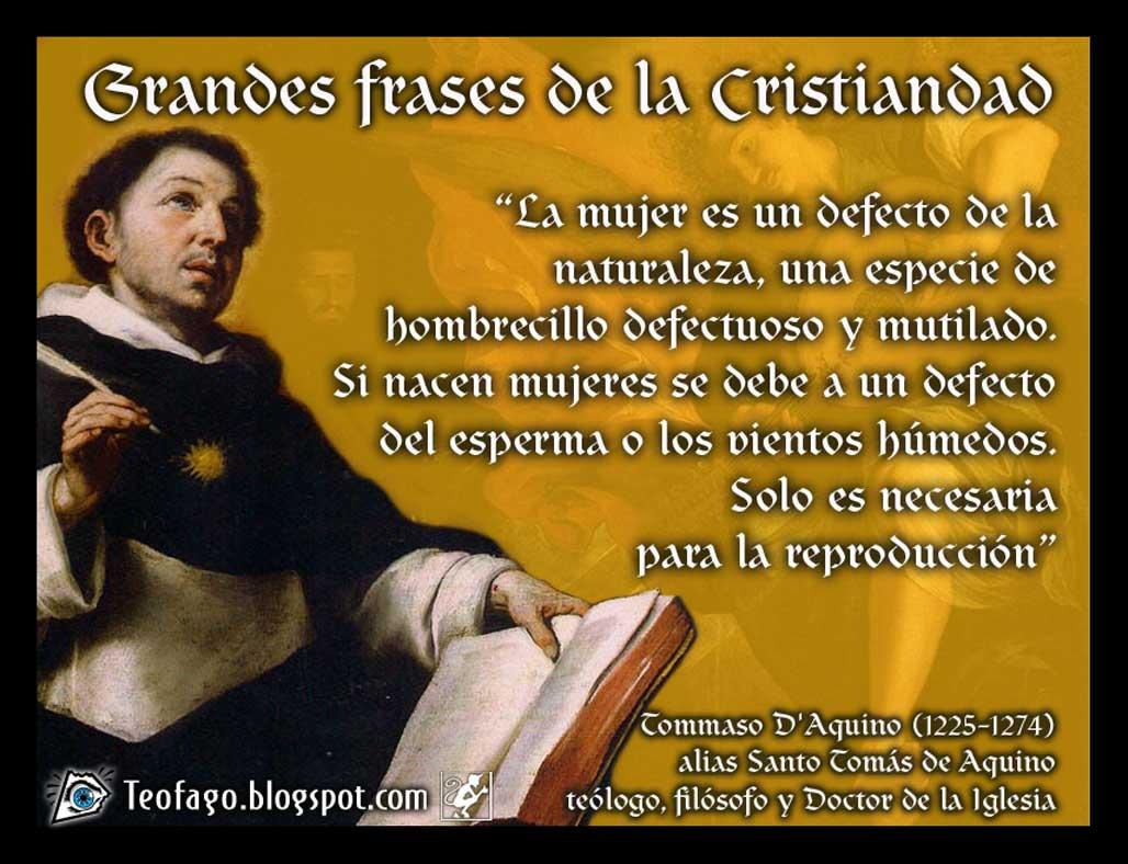 Teófago Santo Tomás De Aquino
