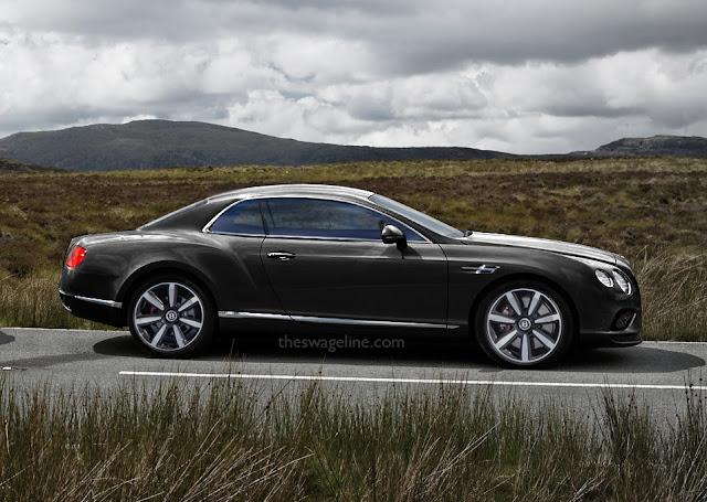 Bentley Continental hardtop notchback