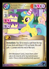 My Little Pony Lemon Hearts, Banquet Planner High Magic CCG Card