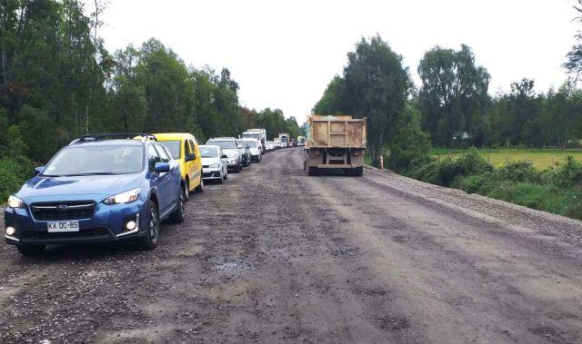 Plan de mitigación para obras de Ruta Internacional 215