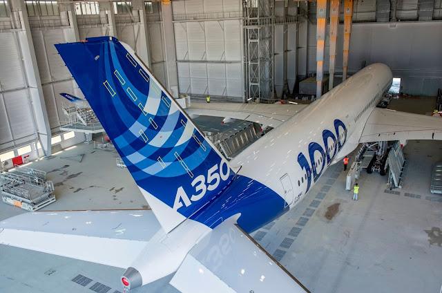 a350-1000 hangar