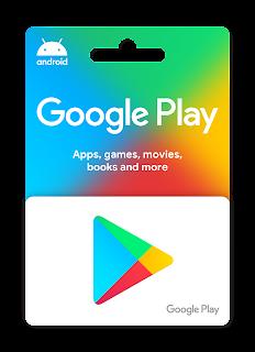 بطاقة جوجل بلاي $10 مجانا