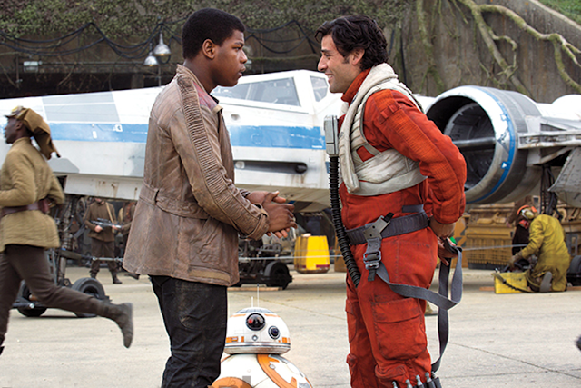 Star Wars The Force Awakens: Finn şi Poe