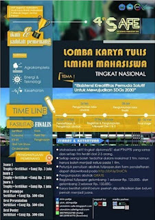 Lomba Karya Tulis Ilmiah 4th SAFE SIP National Competition 2018 Untuk Mahasiswa