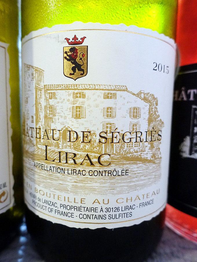 Château Ségriès Lirac Blanc 2015 (89 pts)